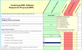 Matrix Electronic Charting Cardiology Ehr Emr Software Selection Rfp