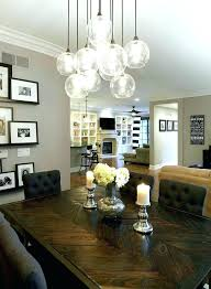 chandelier for dining table dining chandelier height from table surprising chandelier size for dining room or