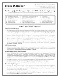 Manufacturing Resume Templates Plant Manager Resume Sample Awesome Amazing Manufacturing Engineer Resume