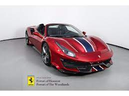 It makes for a common interest that unites the. Approved Pre Owned2020 Ferrari 488 Pista Spider For Sale In The Woodlands