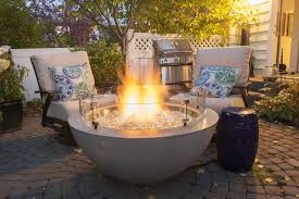 gas fire bowl. Contemporary Fire Outdoor Great Room Cove 30 On Gas Fire Bowl
