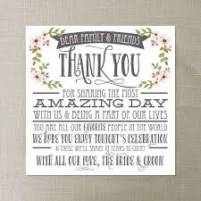 best 25 wedding reception cards ideas on pinterest table Wedding Thank You Cards No Pictures wedding thank you card country bloom white wedding reception wedding thank you place setting card diy instant download wedding thank you cards photo