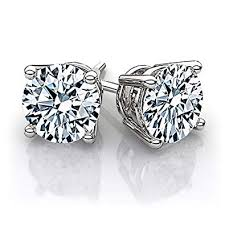 beverly hills jewelers 1 00 carat tw igi certified stunning 14k white gold shiny and white natural