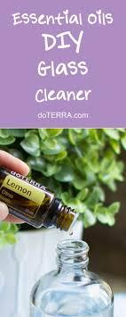 doterra essential oils diy glass cleaner recipe