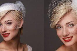 Retro Svatební účesy Krátké Vlasy