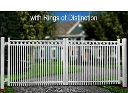 Industrial Driveway Gate 2x Pickets Smooth Top