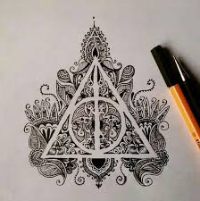harry potter art and drawing image
