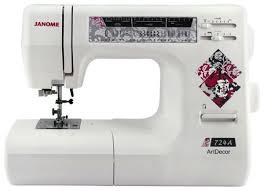 Отзывы Janome <b>Art</b> Decor 724A | <b>Швейные машины Janome</b> ...