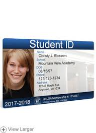Detailed Student Hslda Store Photo Id
