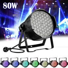 Chauvet Rgb Color Chart Details About 80w Rgb Stage Light Dmx512 Flat Par Lamp Club For Dj Disco Party Bar Lighting