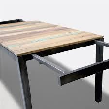 Table Style Industriel Avec Rallonges Beau Table Cuisine Rallonge