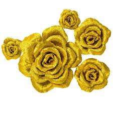 Rose Flower With Paper Amazon Com 5 Large Crepe Paper Flowers Handcrafted Flowers Nursery