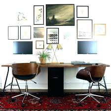 home office double desk. Office Desk For Two Double Home Person .