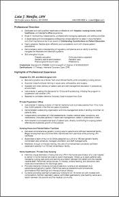 Resume Tremendous Objective For Nursing Sample Statements On