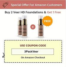 Veer Hd Studio Foundation Full Coverage Foundation Natural Wear Liquid Foundation Professional Anti Aging Cosmetics For All Skin Types Long