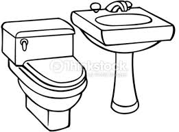 kitchen sink clipart black and white. pin bathroom clipart black and white #6 kitchen sink y