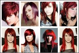 Different Shades Of Red Chart How To Use Hair Color Chart Shades Of Red Hair To Desire
