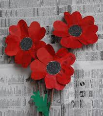 Make A Paper Poppy Flower That Artist Woman How To Make Paper Poppies