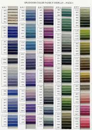Yli Silk Ribbon Color Chart Www Bedowntowndaytona Com