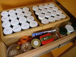 Diy Kitchen Drawer Organizer Kitchen Grey Wooden Kitchen Cabinet Drawer With Grey Plastic