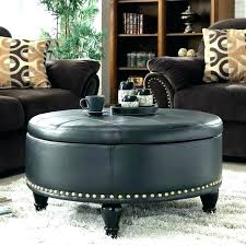 round tufted coffee table round tufted ottoman coffee table large round tufted ottoman oversized leather ottoman