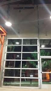 Commercial glass garage doors Overhead Commercial Modern Anodized Aluminum Clear Glass Garage Doors Lux Garage Doors Contemporary Aluminum Clear Tempered Glass Garage Door Lux