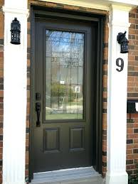 adding glass to solid wood front door half exterior double doors with black wooden entry two panel and using han