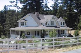 Beautiful Country House Plans   Wraparound Porch Ideas   Modern    Image of  House Plans With Porches Across The Front