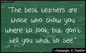 Best Quotes On Teachers