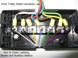 replacing trailer connector wiring for rockwood a122 a frame  click to enlarge Rockwood A122 Wiring Diagram