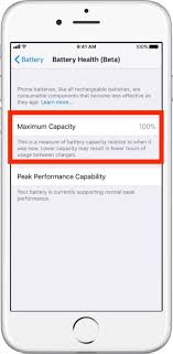 Depending upon the length of time between when the iphone was made. How To Check Iphone Battery Health Osxdaily