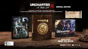 amazon uncharted 4 a thief s end special edition playstation 4 video games