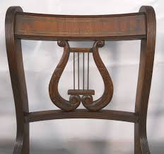collecting antique furniture style guide. SOLD - Set Of Six Antique Regency Style Mahogany Harp Back Dining Chairs Collecting Furniture Guide