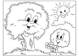 Disegno Papà Albero Con Bambini Da Colorare Gratis Disegni Da
