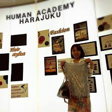 get skills in yokoso association you know harajuku is a well known fashion town in one of human academy s schools is located in harajuku when you are studying at this school