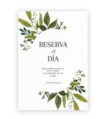 50 Invitaciones De Boda Personalice Sus Propias Tarjetas