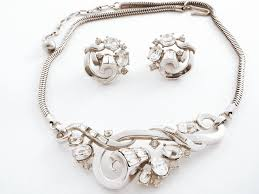 Trifari Alfred Philippe Designs Crown Trifari Alfred Philippe Necklace And Earrings Love Deco