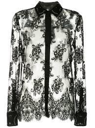 Alexander Wang - кружевная <b>рубашка с декором - для</b> женщин ...