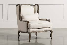 Accent Wingback Chairs Accent Chairs With Arms Armless Living Spaces