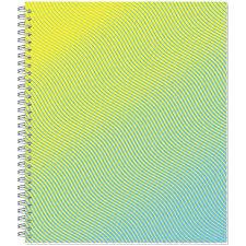 <b>Тетрадь общая Attache</b> Lines Waves, 96л, пружина, УФ-лак
