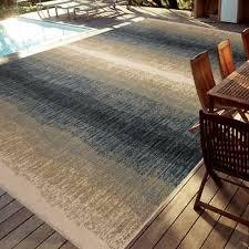 easy living indoor outdoor rug daze 7 10 x 12 skyline blue interiors 16