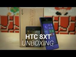 HTC 8XT Unboxing - video dailymotion