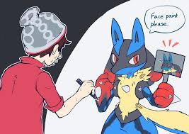 No more Mega Evolutions in Sword and Shield? That can be fixed. (by  @mabuta_1) : lucario