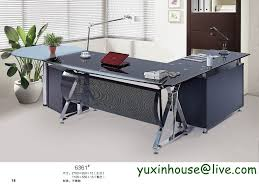 tempered glass office desk. Tempered Glass Office Desk Boss Table Commercial Furniture Modern Design Executive 6361 On Aliexpress.com | Alibaba Group O