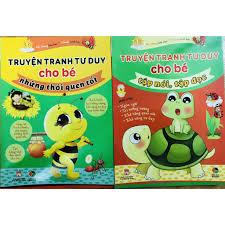 Sách - Combo Truyện Tranh Tư Duy Cho Bé : Những Thói Quen Tốt + Tập Nói Tập  Đọc tại TP. Hồ Chí Minh