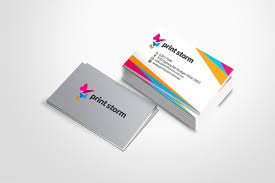 Buiness Cards Print Storm Premium Business Cards