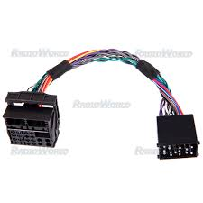 car iso wiring harness for bmw round pin to flat pin cswh66 carsio car iso wiring harness for bmw round pin to flat pin cswh66