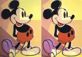 mickey andy warhol wikipaintings org artist andy warhol style pop art genre design pictify your social art network