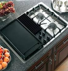 gas cooktop with downdraft. Gas Cooktop With Downdraft Inch Modular Three Speed Ventilation Burner Module
