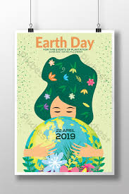 Flourish And Fresh Mother Earth Day Celebration Flyer